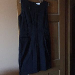 Black CK dress size 14